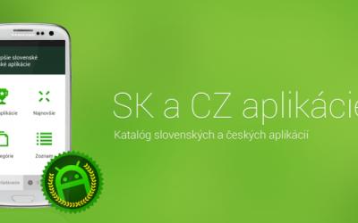 Slovenské a české mobilné aplikácie vo vašom vrecku!