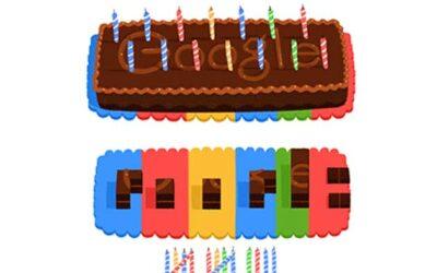 Google oslavuje 14.narodeniny!