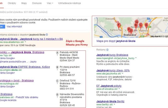 Ako využiť Google miesta pre firmy