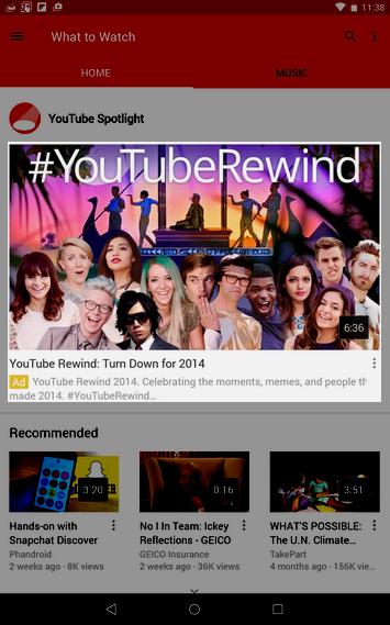 youtube-reklama-na-hlavnej-stranke-v-mobilnej-aplikacii