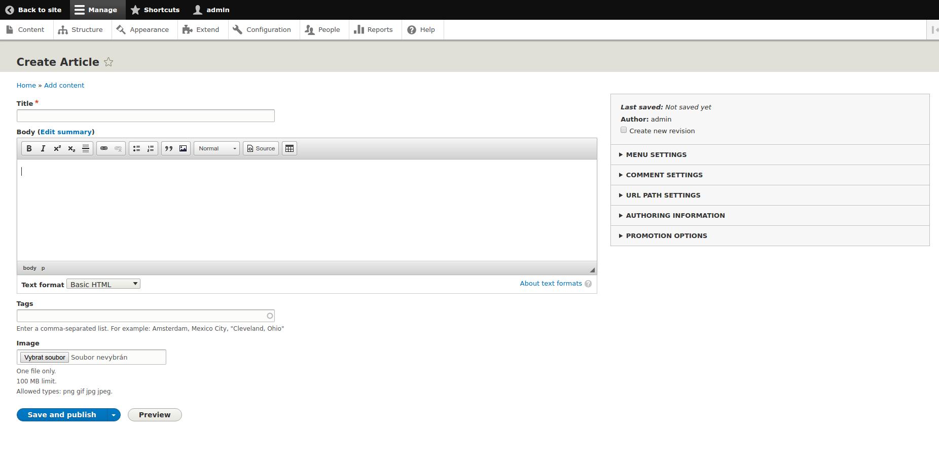 Drupal 8 Administration - Desktop