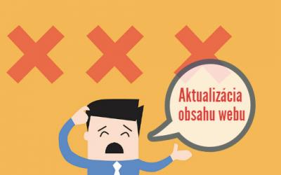 """Aktualizácia obsahu webu nie je práca pre """"ítečkára"""""""