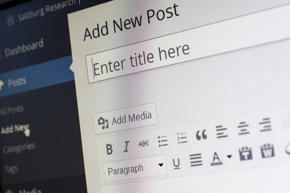 wordpress administrativny system