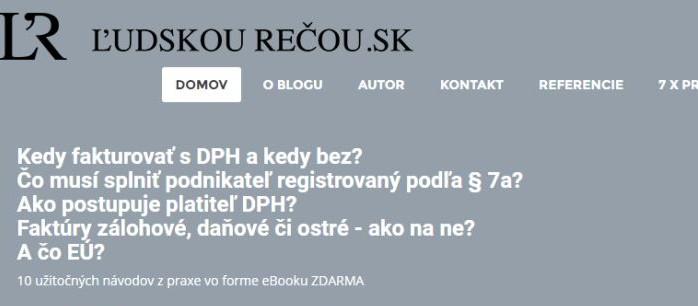 Top blogeri - ludskourecou.sk
