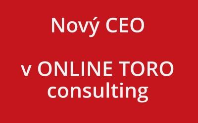 V ONLINE TORO máme nového CEO!