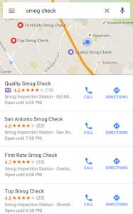 Reklama na Google Maps
